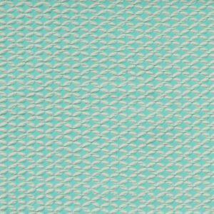 Shippou Knit Jacquard Jersey Mint Albstoffe